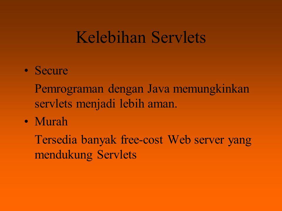 Instalasi Documentasi untuk Servlets dan JSP tersedia di http://java.sun.com/products/servlet/ http://java.sun.com/products/servlet/ JBUILDER
