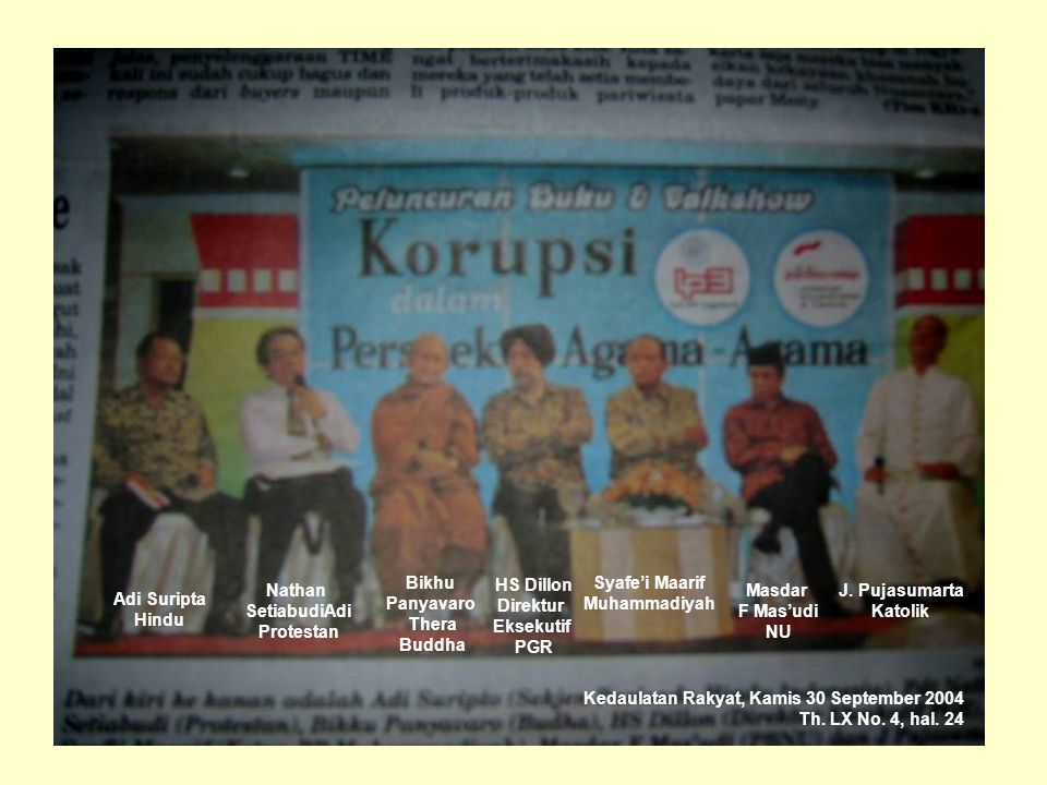 Kedaulatan Rakyat, Kamis 30 September 2004 Th. LX No.