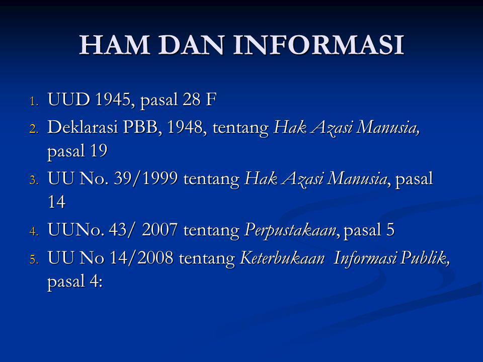 11 PERAN IPI dalam UU 43/2007 (1) 1.