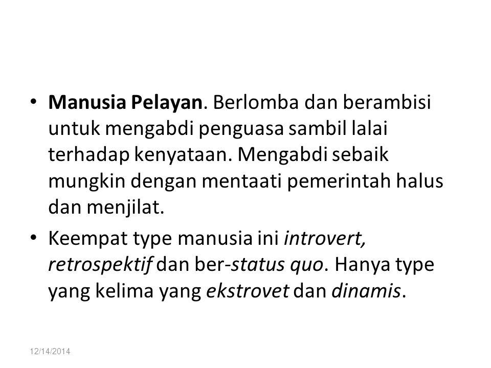12/14/2014 Manusia Pelayan.