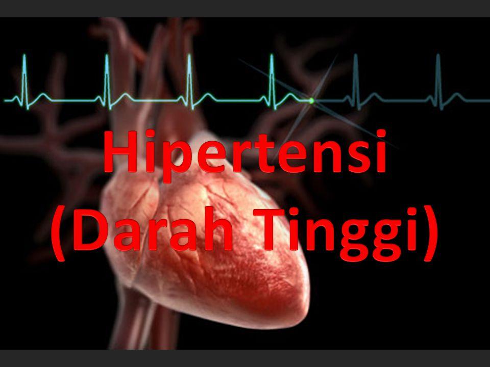 Adalah.......Tekanan darah tinggi merupakan gangguan di mana tekanan di arteri terlalu tinggi.