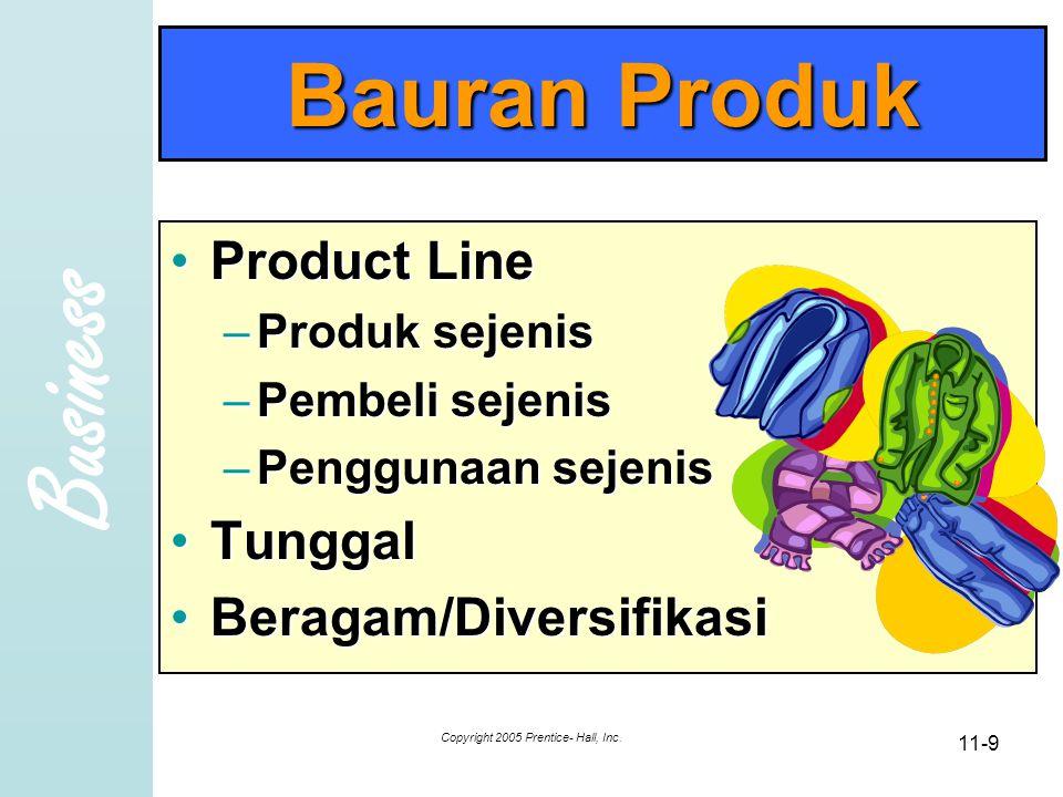 Business Copyright 2005 Prentice- Hall, Inc. 11-20 10 brand/merk paling bernilai
