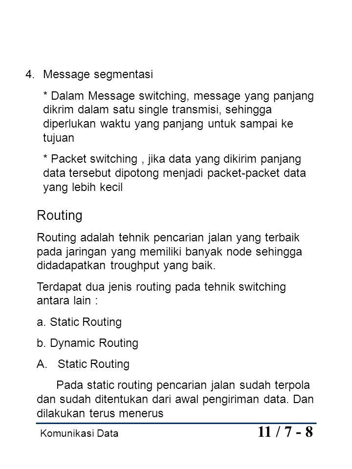 Komunikasi Data 11 / 8 - 8 B.
