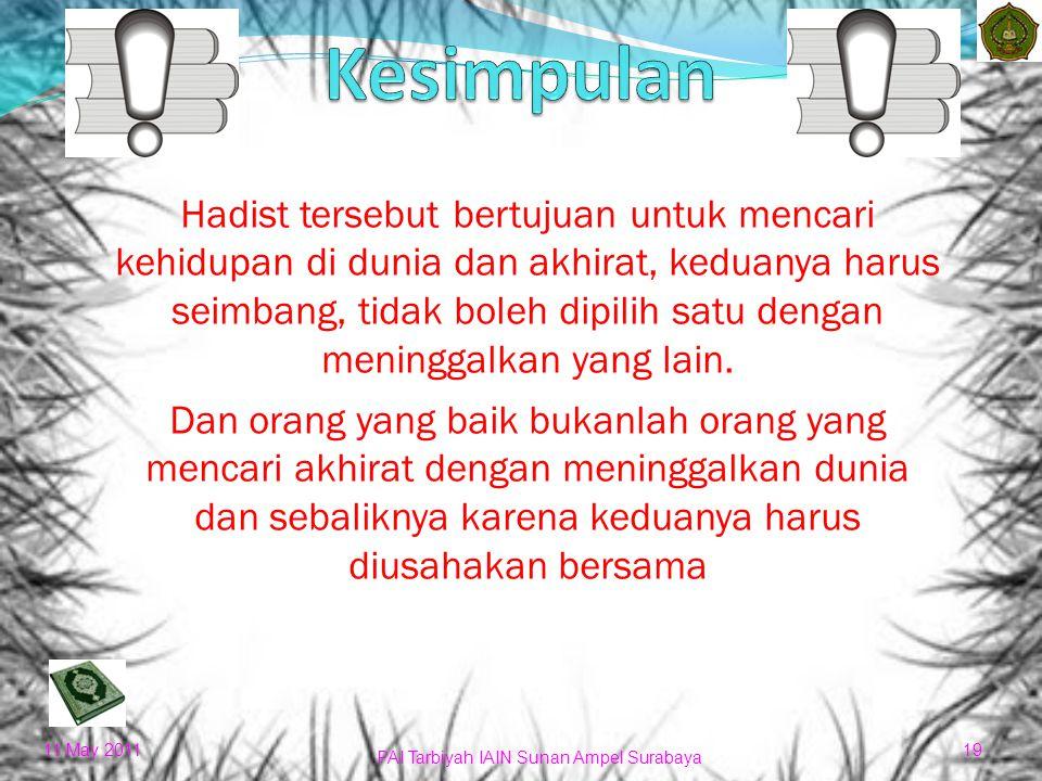a.Dapat mengatasi problem hidup yang dihadapi b. Memperoleh penghargaan dari orang lain c.