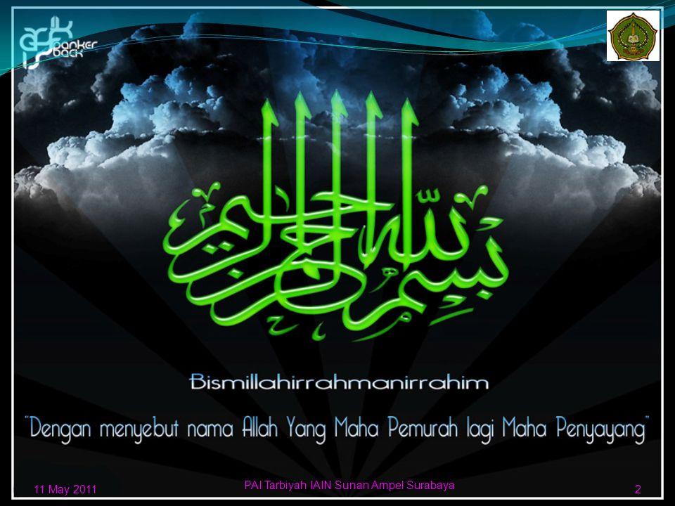 Arni Daeng Bani Yesar D01209110 Fakultas Tarbiyah Jurusan Pendidikan Agama Islam Institut Agama Islam Negeri Sunan Ampel Surabaya 11 may 20111 Standar