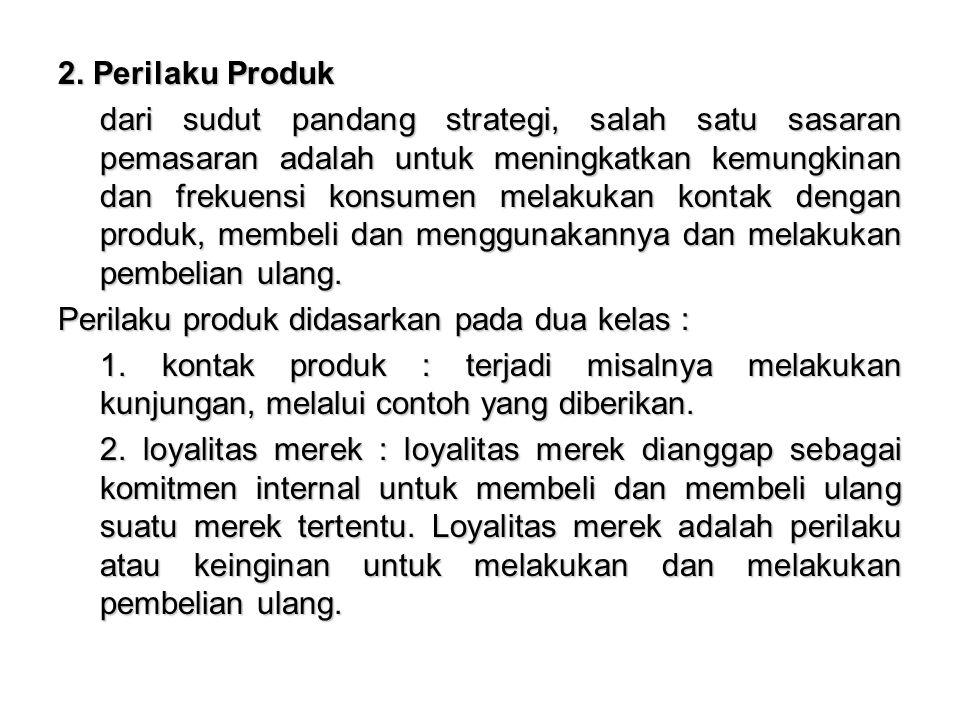 Loyalitas Merek dibagi : 1.Loyalitas merek tak terbagi (undevided brand loyalty) 2.Loyalitas merek berpindah (brand loyalty switches) 3.Loyalitas merek terbagi (devided brand loyalty) 4.Pengabaian merek ( brand indeferrnce) 3.