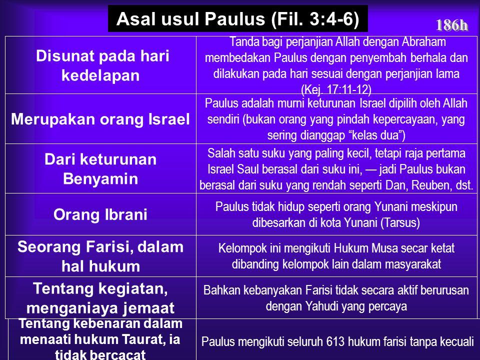 186g Keseimbangan dalam Hidup Kekristenan Fil. 3:1-3 Fil. 3:4-16 Fil. 3:17-20 Legal = Menjalani HukumAcuan dan Kebebasan Kebebasan = Tidak ada hukum P