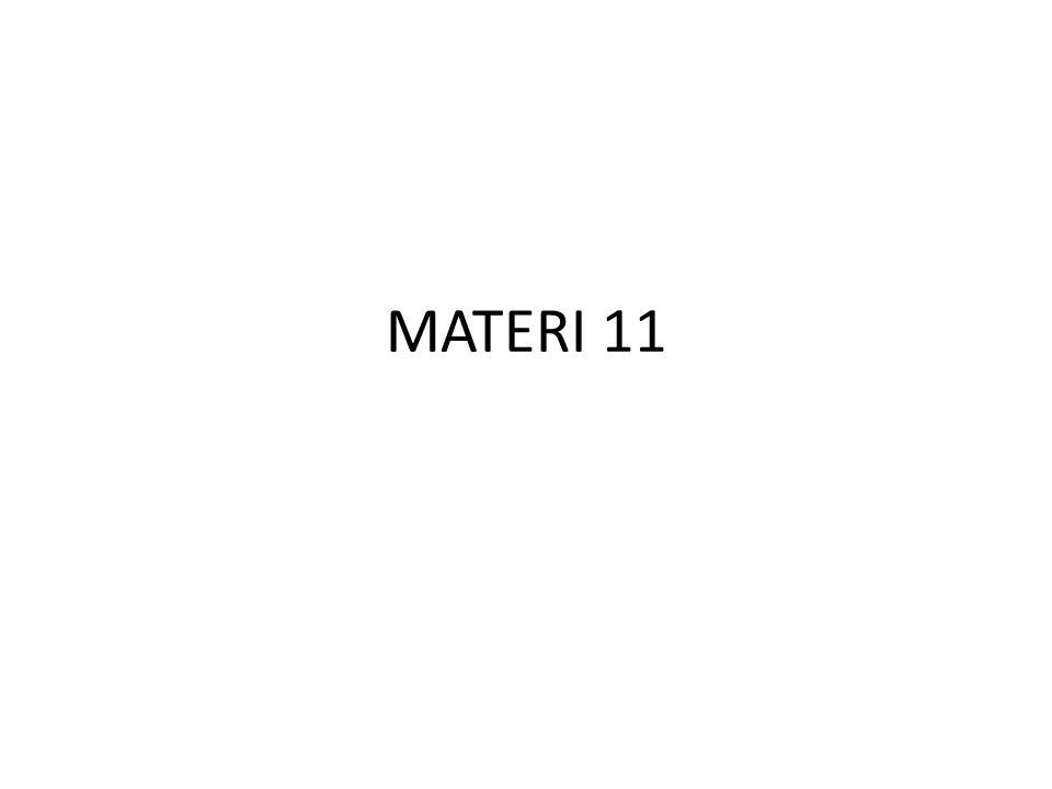 MATERI 11