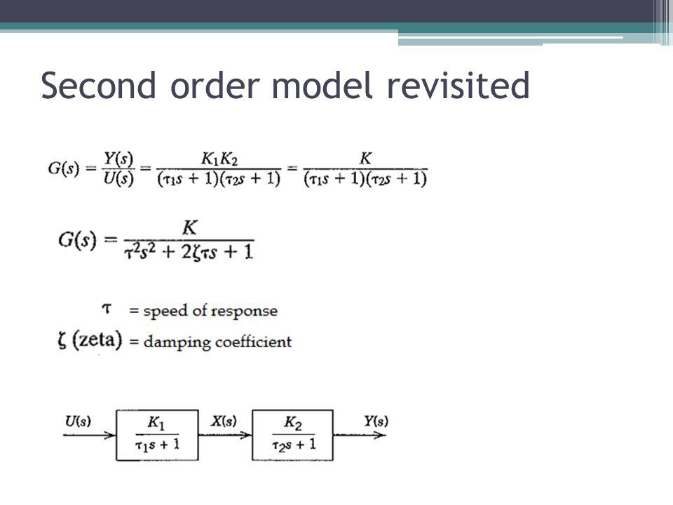 Second order model revisited