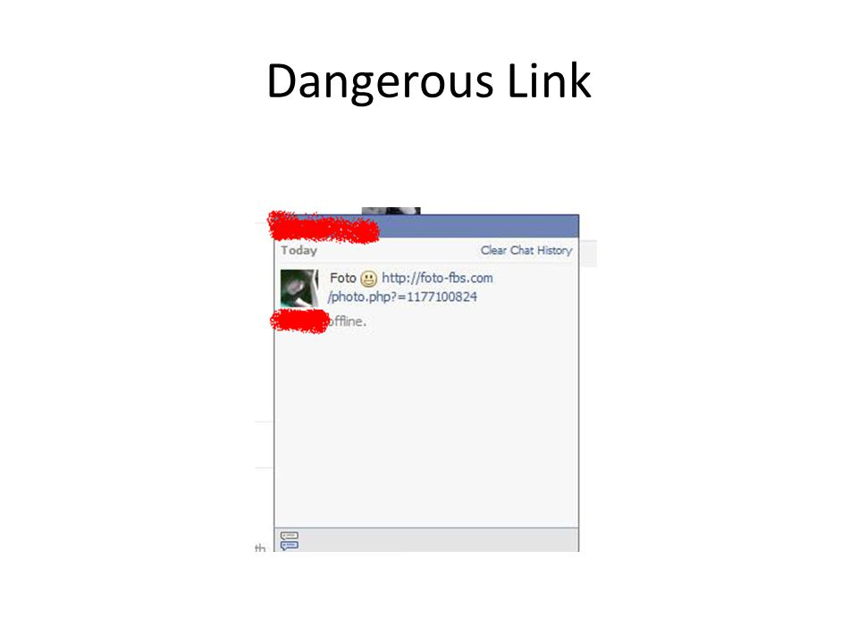 Dangerous Link