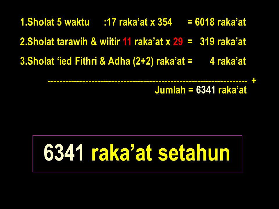 Dari deffenisi: Ramadhan 29 Tarawih Witir 11 Kita menemukan hitungan sbb:
