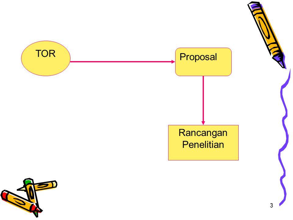 3 TOR Rancangan Penelitian Proposal