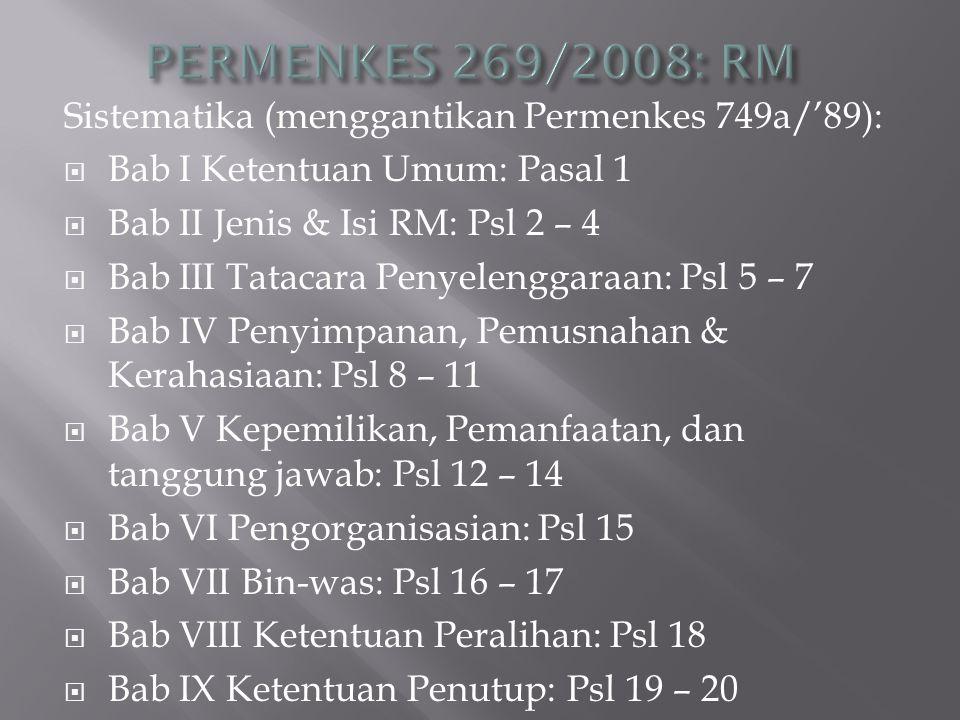 Permenkes No.922/1993:  Pengertian: resep = permintaan tertulis dari dr./drg./drh.