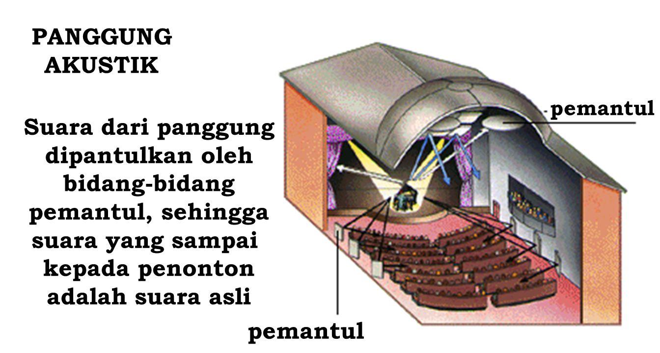 Bagaimana terjadinya gema atau echo ? Gema terjadi bila : bunyi asli dan bunyi pantulan masuk telinga dengan perbedaan waktu minimal 50 milisekon untu