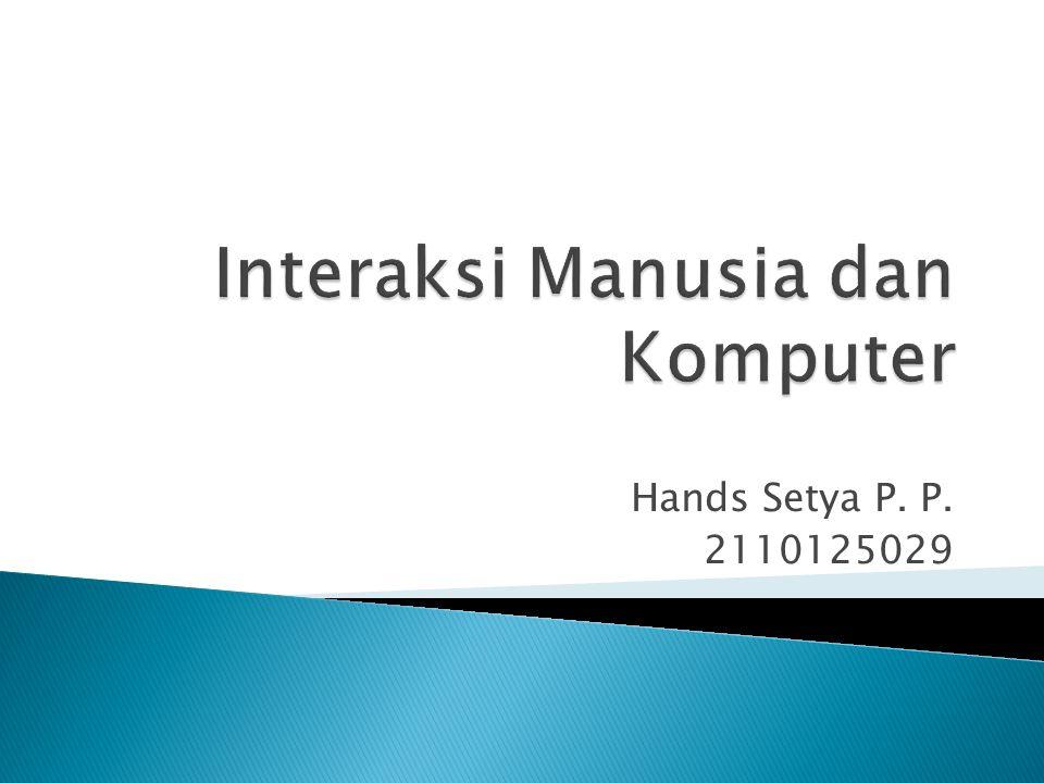 Hands Setya P. P. 2110125029