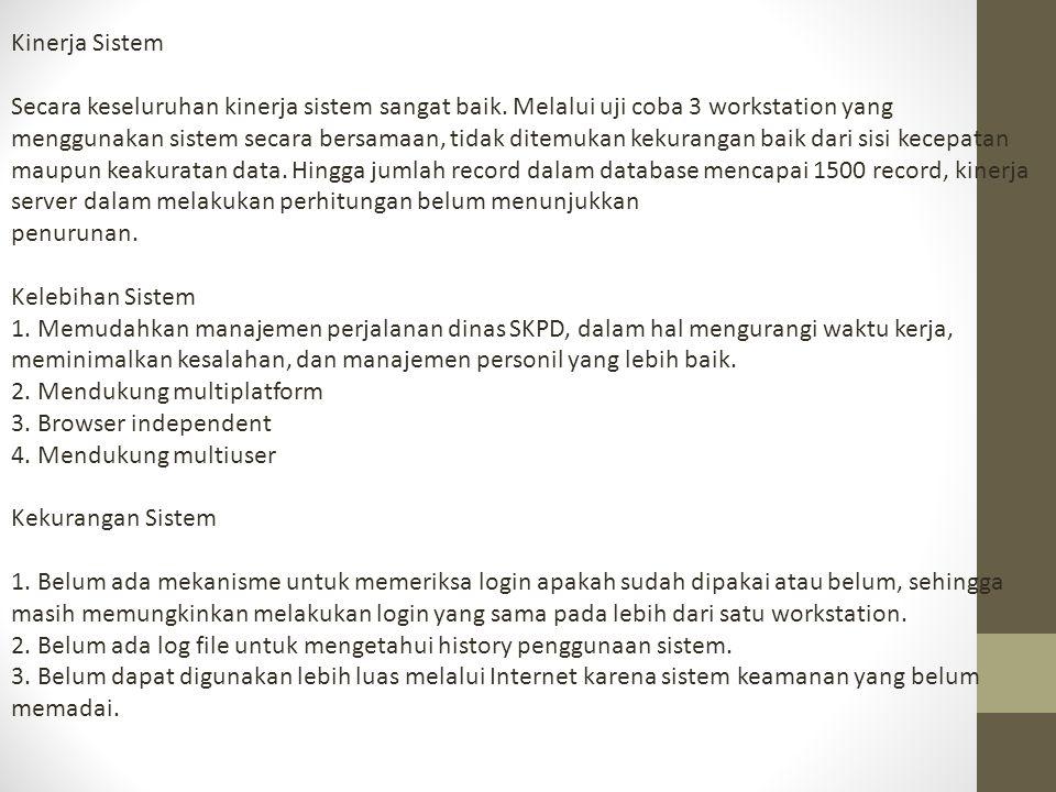 Strategi Implementasi Pemakaian sistem dalam SKPD dapat dilakukan dengan memperhatikan beberapa hal berikut: 1.