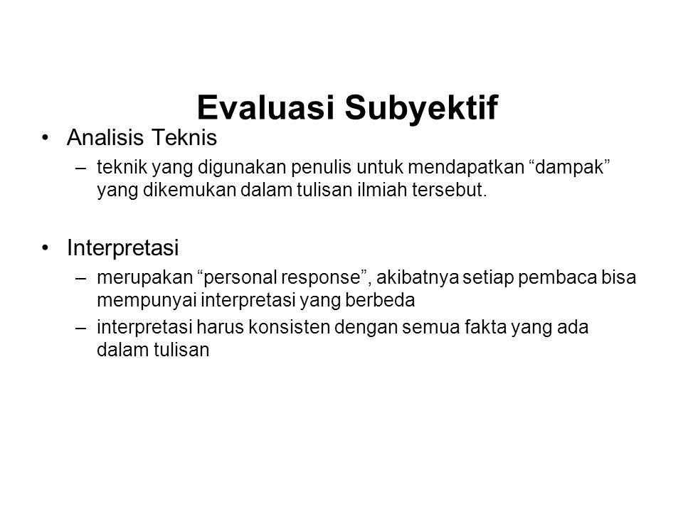 Interpretasi –Interpretasi bukan sekedar membuat ringkasan.