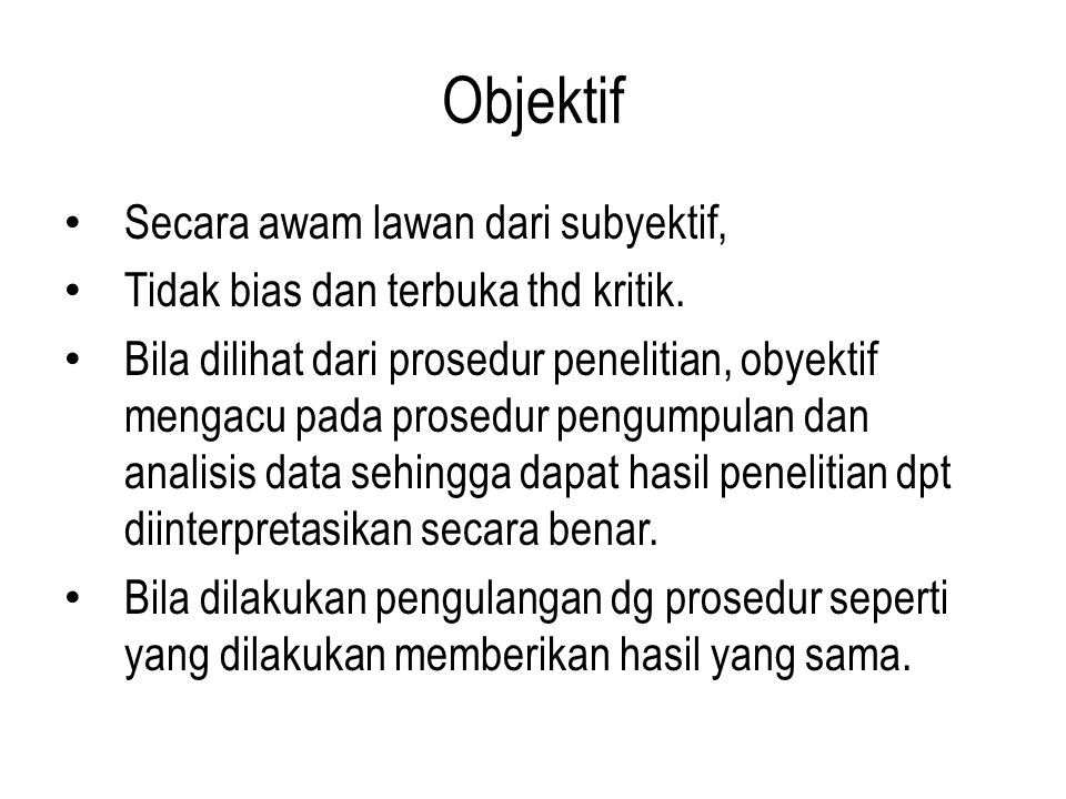 Karakteristik lain (keempat) keaktualan dan orisinilitas.
