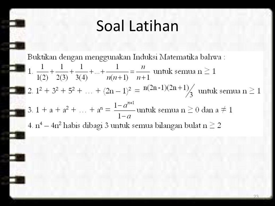 Soal Latihan 23