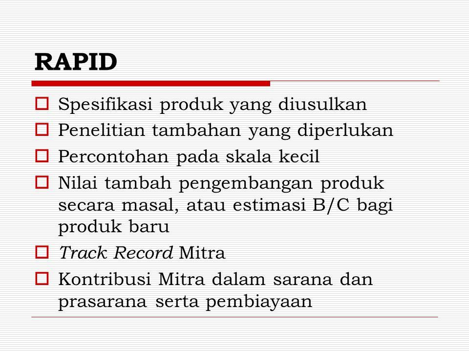 PenelitiankerjasamaPerguruan Tinggi  Roadmap penelitian (2 tahun), sejalan dengan Jadual Penelitian  Lingkup kegiatan di TPM, siapa berbuat apa dan