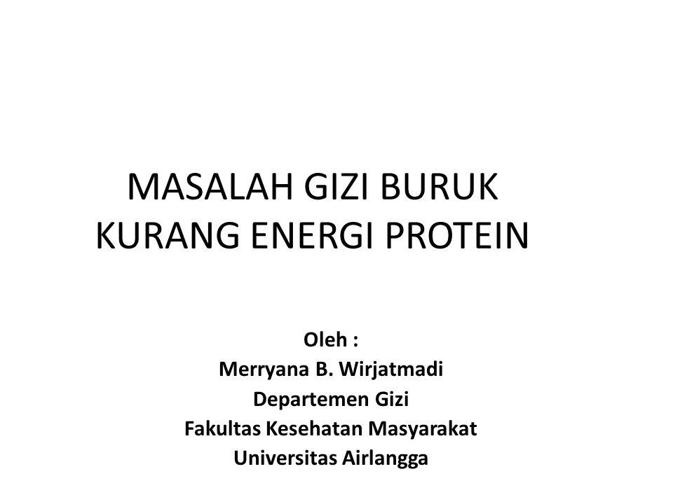 (Hasil PSG DinKesProp.tahun 2003 – 2005 PETA K E P (GIZI BURUK & GIZI KURANG) DI JAWA TIMUR TH.