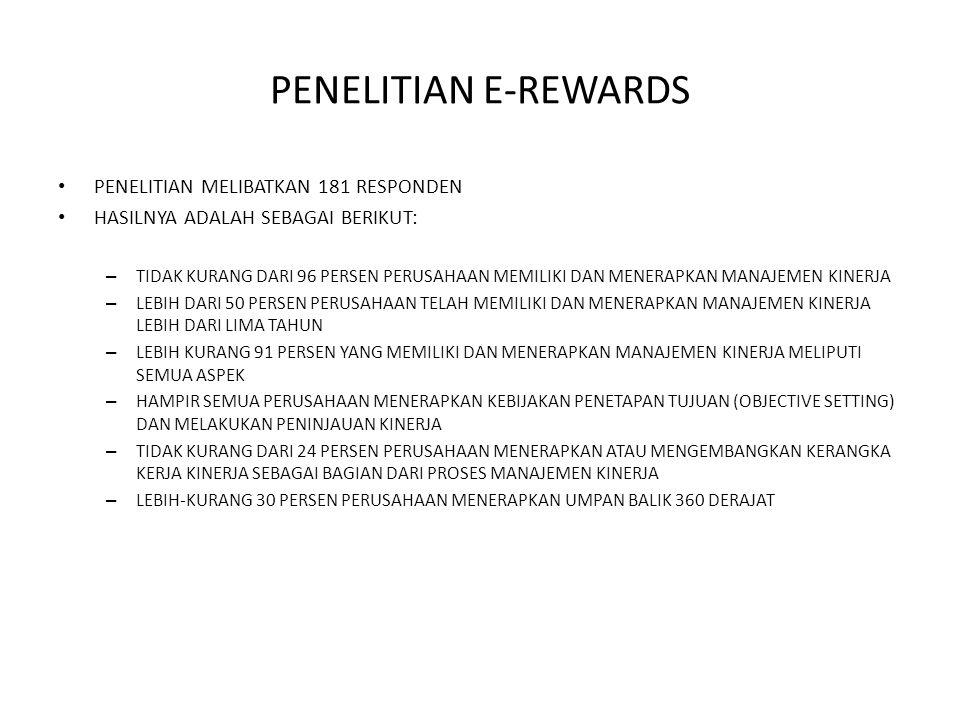 PENELITIAN E-REWARDS