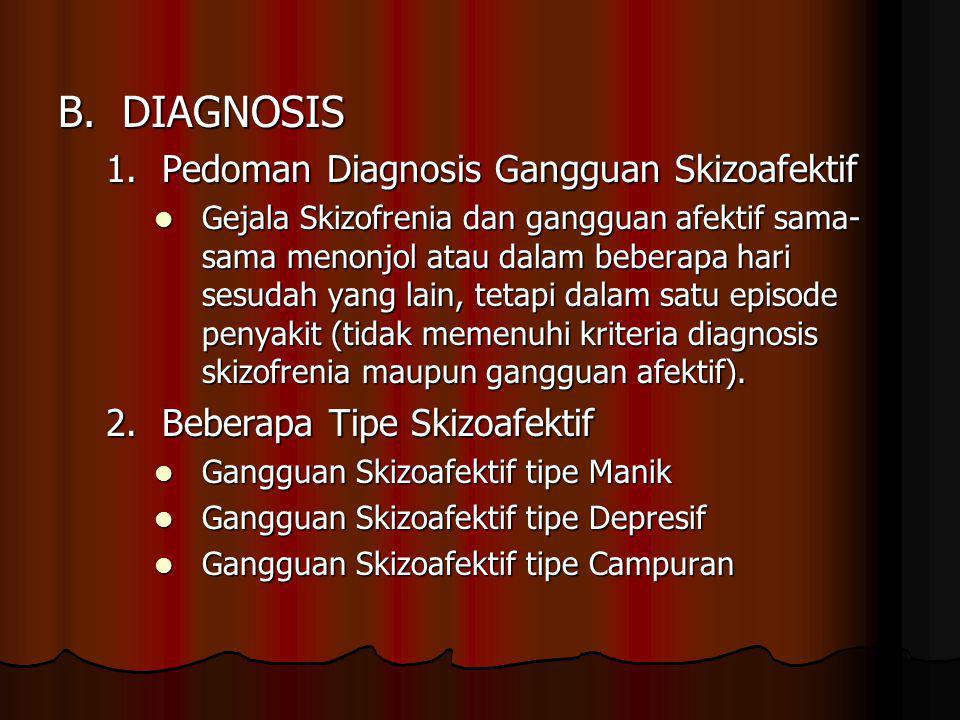 B.DIAGNOSIS 1.