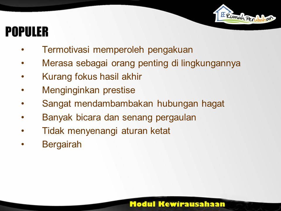 JENIS PRODUK (CUSTOMIZED/MASSAL) BESAR/UKURAN SASARAN (STP) PENGEMBANGAN Pasar +/-