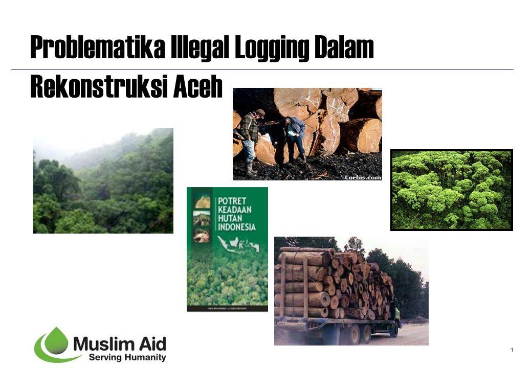 1 Problematika Illegal Logging Dalam Rekonstruksi Aceh