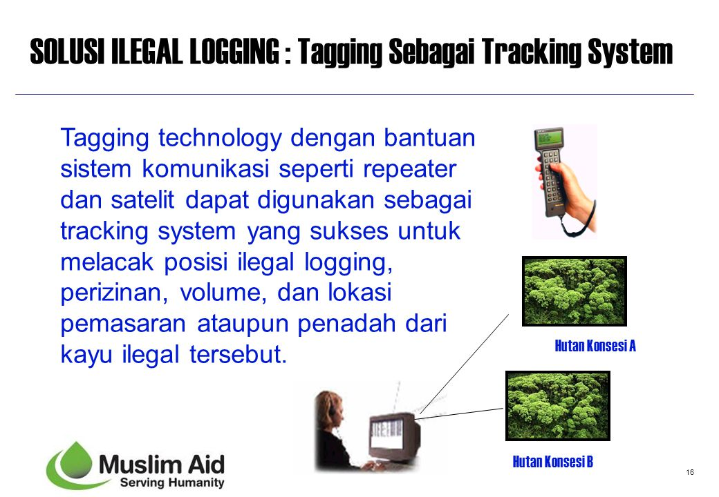 16 Tagging technology dengan bantuan sistem komunikasi seperti repeater dan satelit dapat digunakan sebagai tracking system yang sukses untuk melacak
