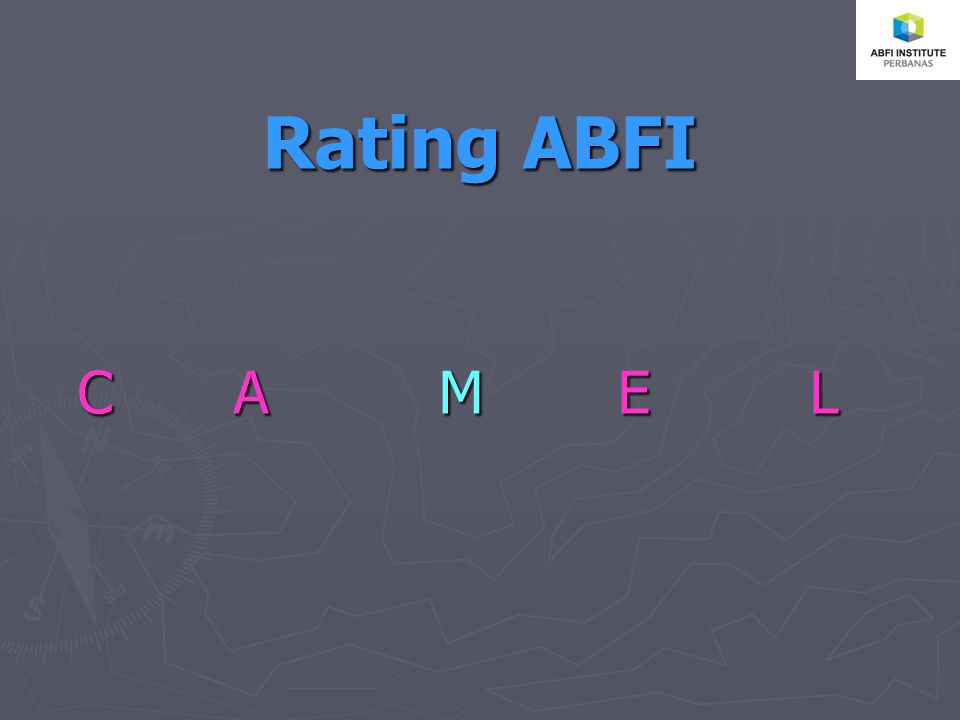 Rating ABFI CA M ELCA M ELCA M ELCA M EL