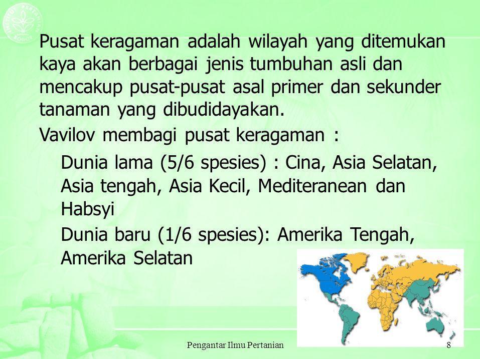 Pengantar Ilmu Pertanian19 MENGAPA MANUSIA HARUS MAKAN .