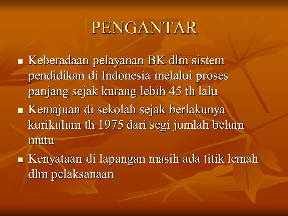 SERTIFIKASI DAN KOMPETENSI KONSELOR Disajikan dalam Pelatihan Konselor SMP/MTs Temanggung, 4-5 Desember 2006 Oleh: Drs Tri Leksono Ph, S.Kom,M.Pd Sekum PD ABKIN Jateng