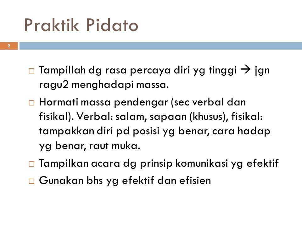 Penilaian Pidato 13 1.