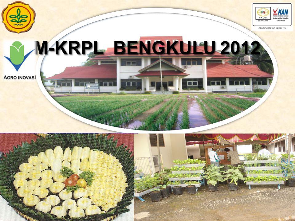 No UraianTahun 2011Tahun 2012 1Lokasi 1.Kota Bengkulu 2.