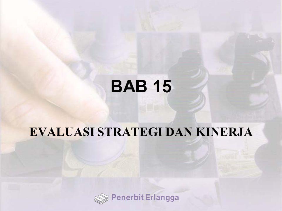 BAB 15 EVALUASI STRATEGI DAN KINERJA Penerbit Erlangga