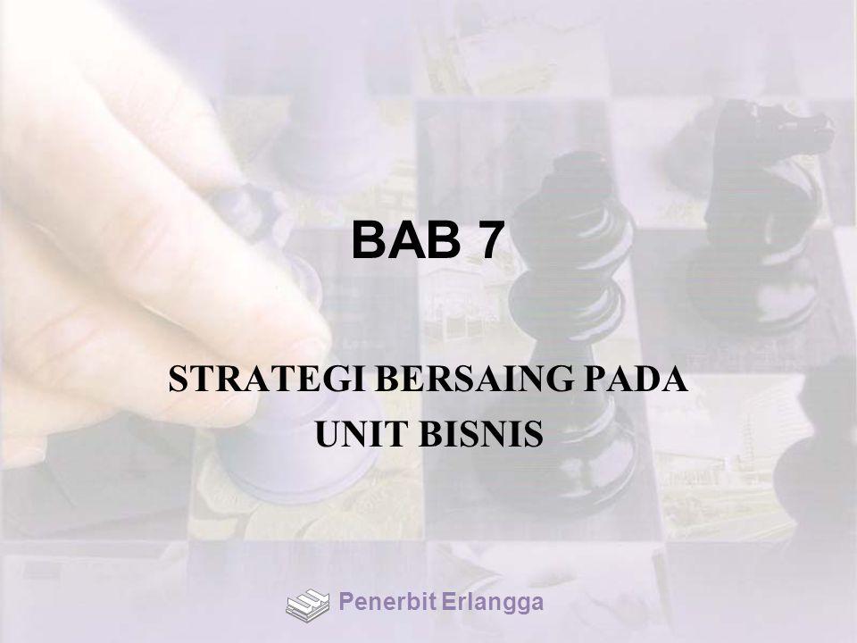 BAB 7 STRATEGI BERSAING PADA UNIT BISNIS Penerbit Erlangga