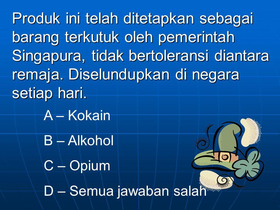 Selamat! Anda benar! Jawabannya adalah d karena Singlish tidak ada dalam pilihan. Ya lagi!