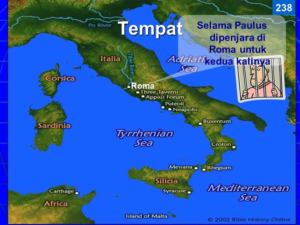 Paulus menulis 2 Timotius kepada rekan perjalanannya, Timotius (2 Tim. 1:2), 5 tahun kemudian setelah suratnya yang pertama. Beranggapan bahwa Timotiu