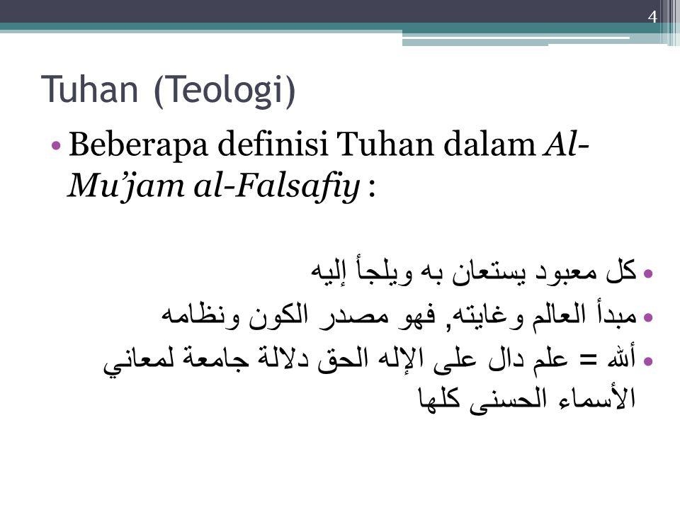 Cita Islam tentang Tuhan Tuhan itu ada.Argumen Kosmologi, Teleologi, dan Ontologi.