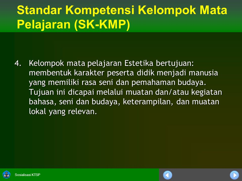 Sosialisasi KTSP 4.