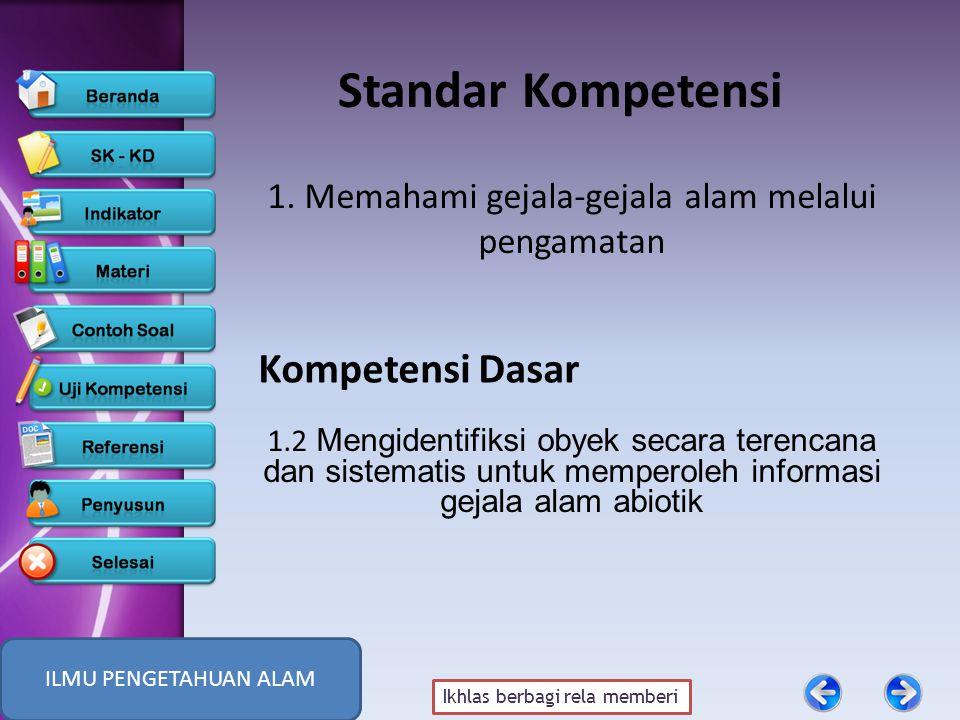 Ikhlas berbagi rela memberi Standar Kompetensi 1.