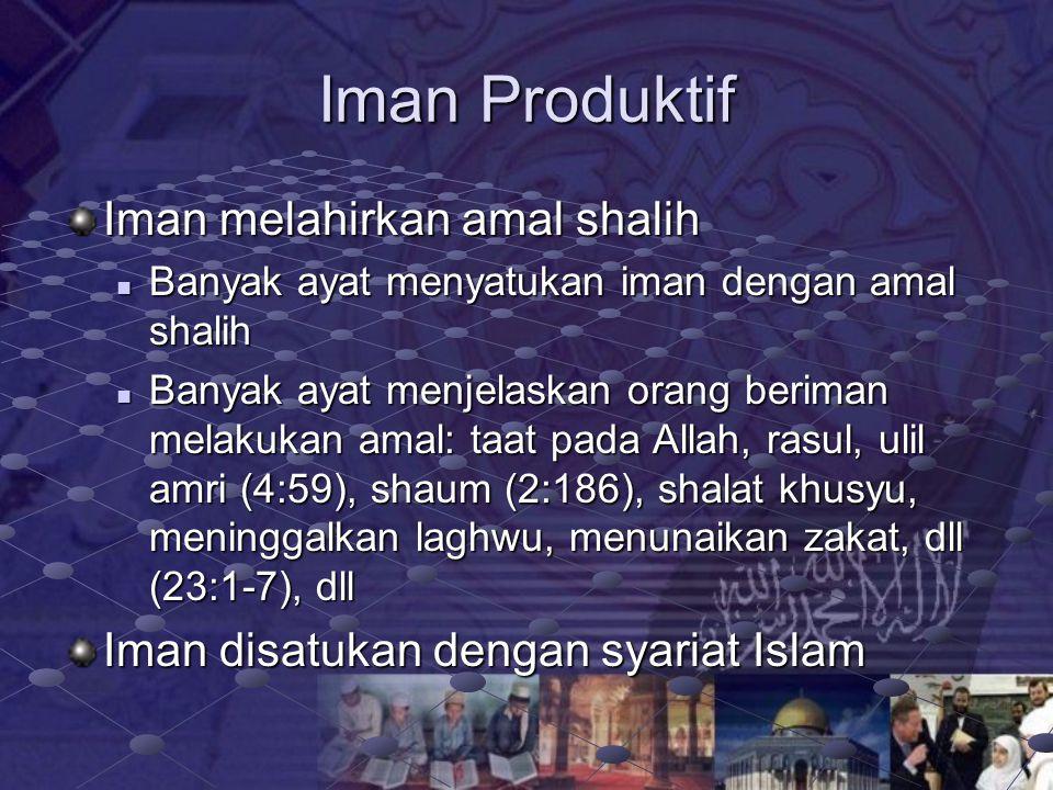 Dua Gaya Hidup GAYA HIDUP ISLAMY Hidup untuk beribadah Landasan iman Tolok ukur perbuatan aturan Islam (halal dan haram) Orientasi hidup akherat dan d