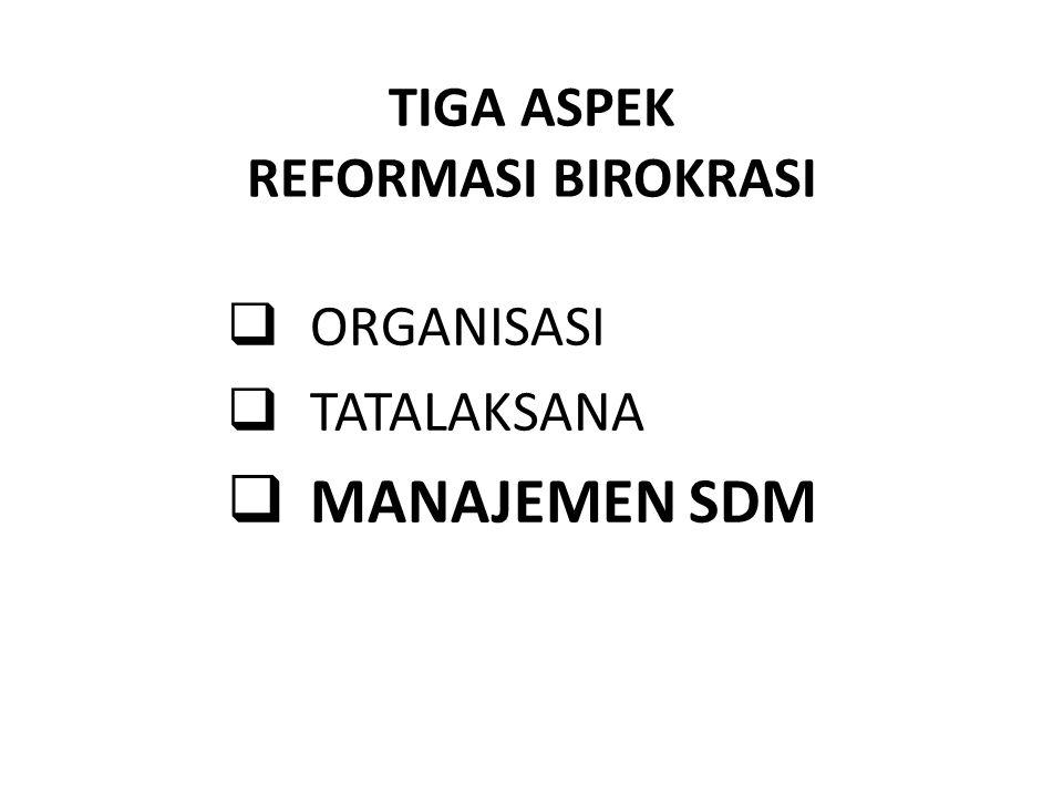 Antara lain: Redefinisi Visi, Misi, Strategi, Restrukturisasi ORGANISASI