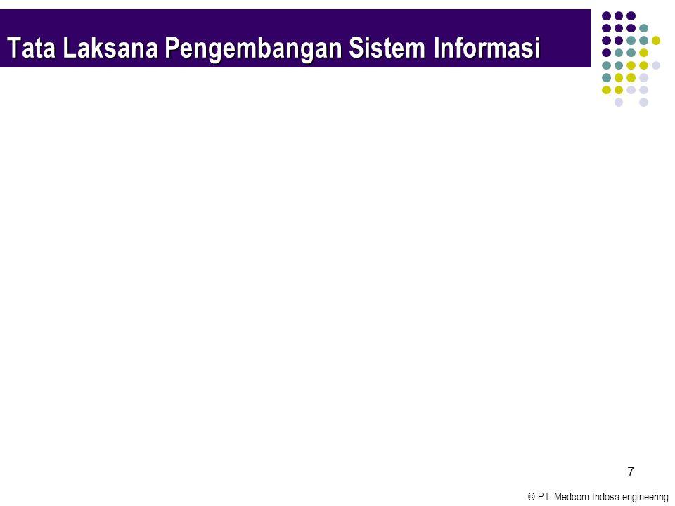 © PT. Medcom Indosa engineering 7 Tata Laksana Pengembangan Sistem Informasi