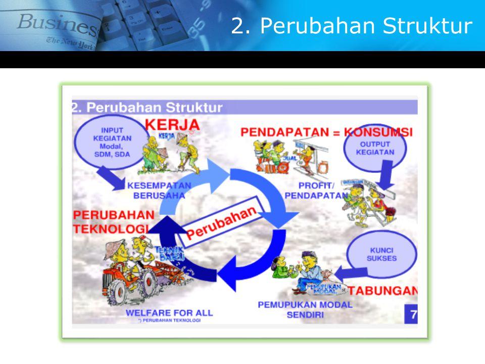 2. Perubahan Struktur