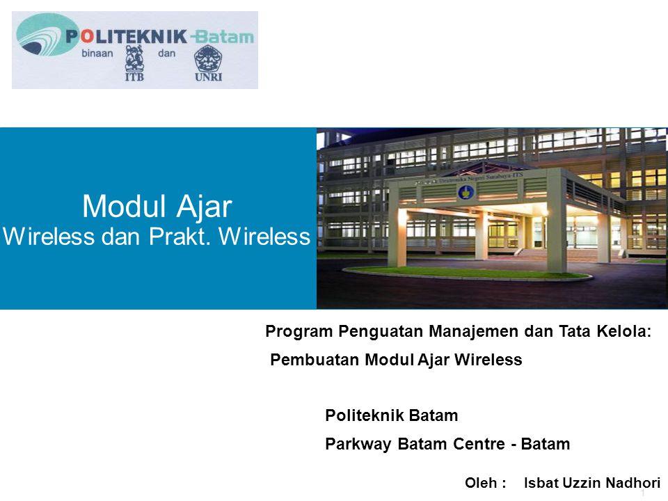 2 Modul Ajar Wireless Network