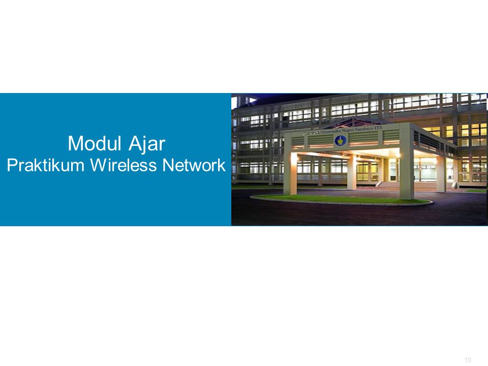 19 Modul Ajar Praktikum Wireless Network
