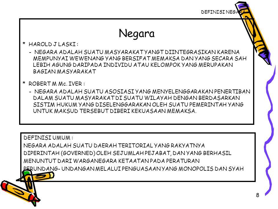 39 DEMOKRASI INDONESIA PRINSIP : *PERSAMAAN *KESEIMBANGAN HAK DAN KEWAJIBAN.