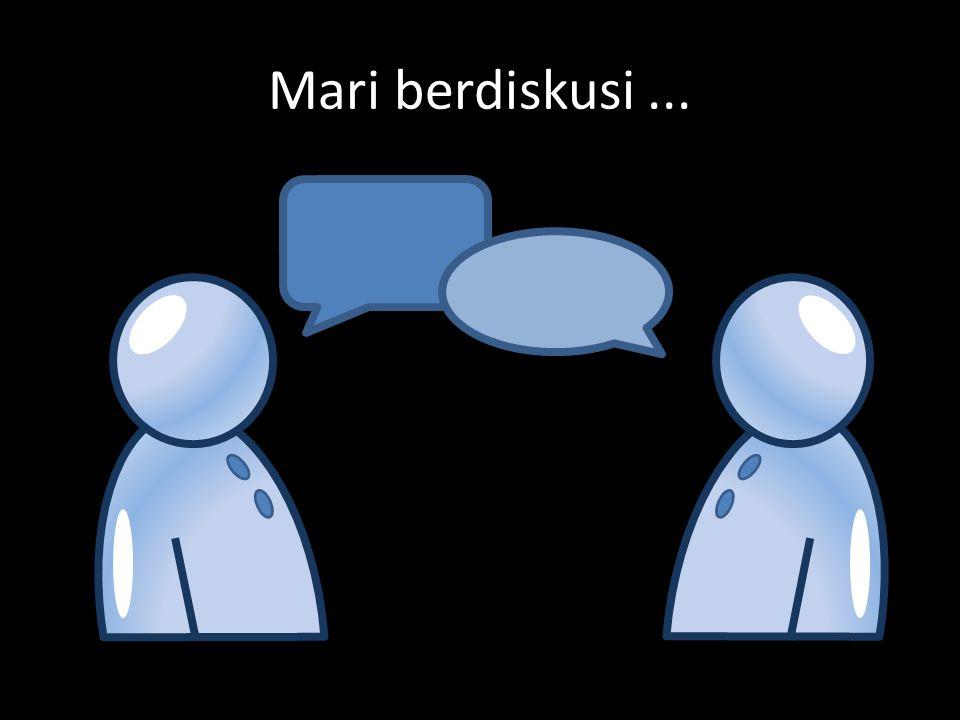 Mari berdiskusi...